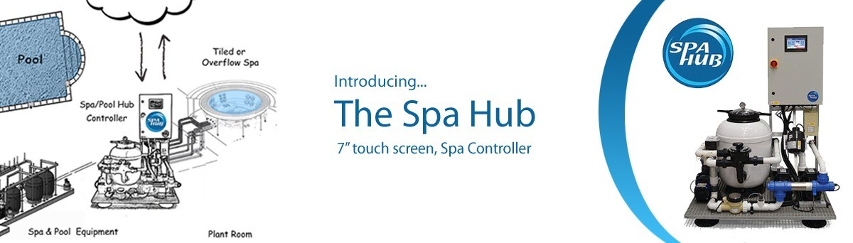 The Spa Hub, Touch Screen Spa Controller